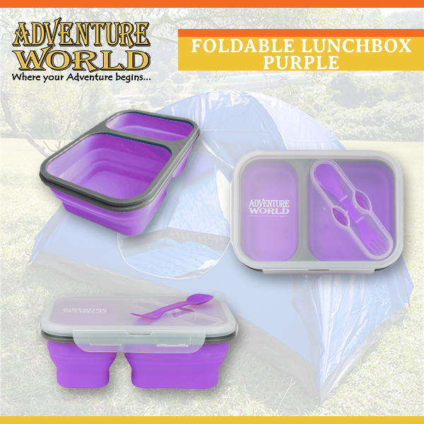 Foldable Lunchbox with Spork