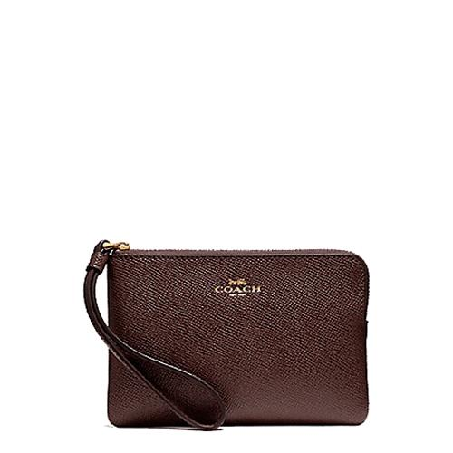 971a2f00bd51 NEW ARRIVAL Coach Corner Zip Small Wristlet Multiple Designs Available (  With Coach Gift Box)