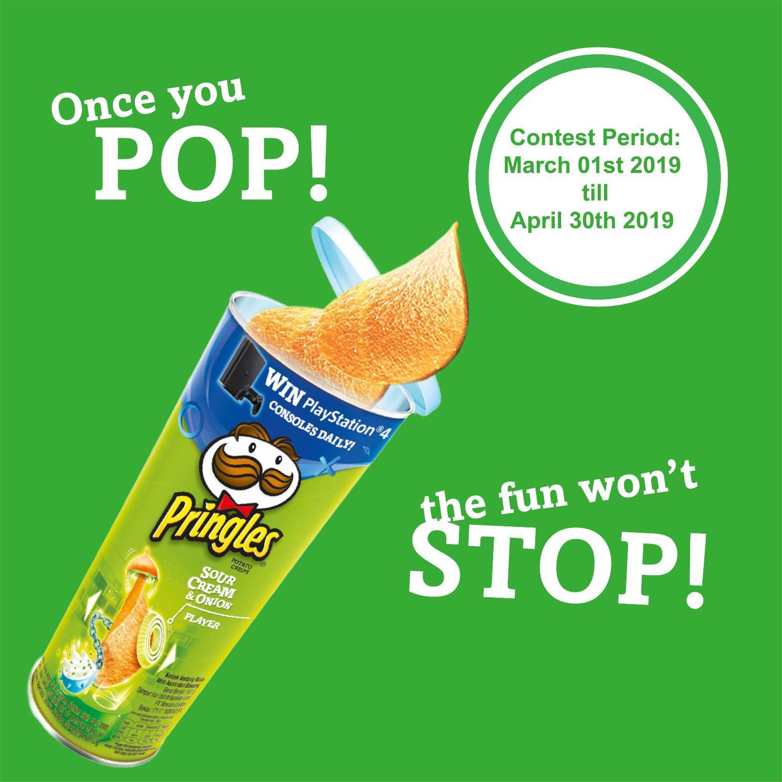 Pringles Sour Cream And Onion Potato Crisps By Redmart.