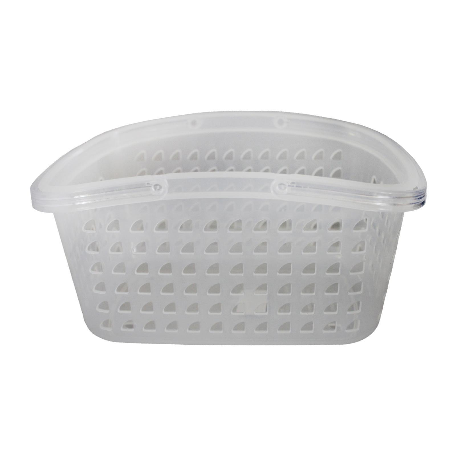 Sanada Seiko Plastic Storage Basket With Handles 002