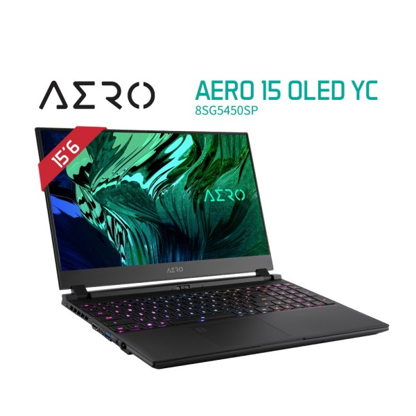 AERO 15 OLED YC (i9-10980HK/64GB/RTX 3080 GDDR6 8GB/1 TB M.2 PCIE SSD/15.6 4K OLED/Win 10 Pro) [Ships 2-5 days]