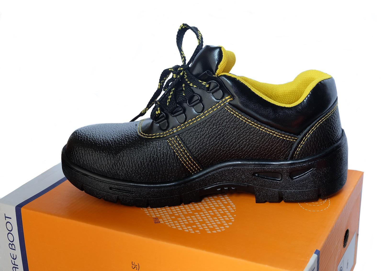 Welwolf Safety Shoes With Metal Cap And Metal Sole By Spiro Spot Global.