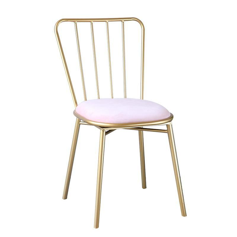 Northern Europe INS Iron Art Leisure Creative Dining Chair Online Celebrity Cafe Reception Chair Milk Tea Dessert Shop Tables And Chairs Combination