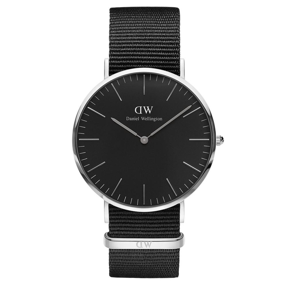 Ready stock Luxury  Original DW dw watch men classic black cornwall silver 40mm Malaysia