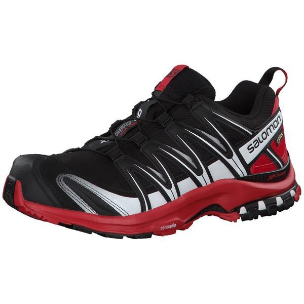 c84d8f53 Salomon Men XA Pro 3D GTX Trail Running Shoes - Black/Barbados Cherry/White