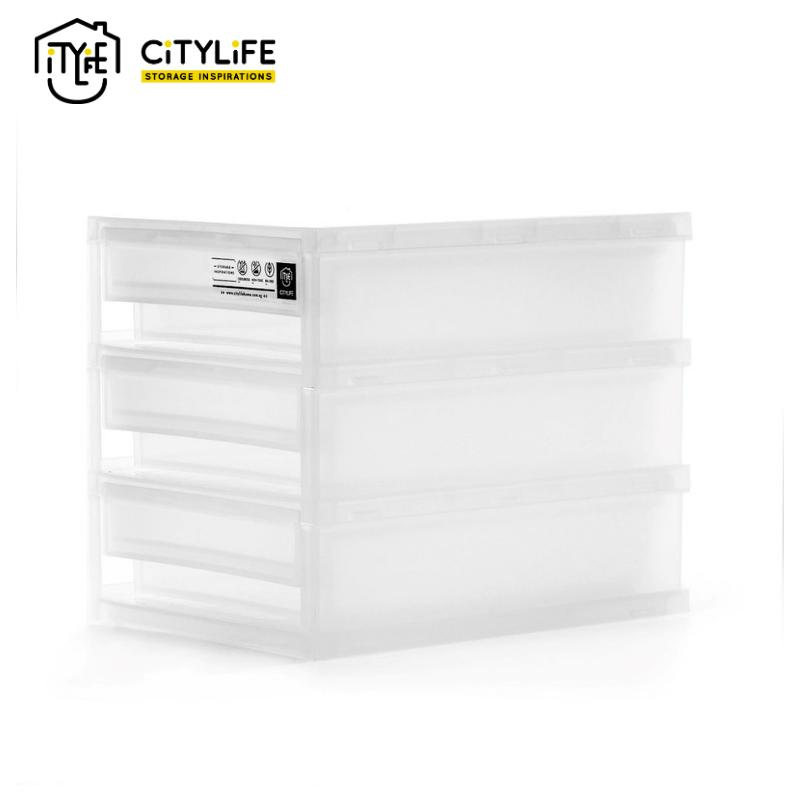 Citlife  3L Frost Mini 3 Tier Cabinet (Small)
