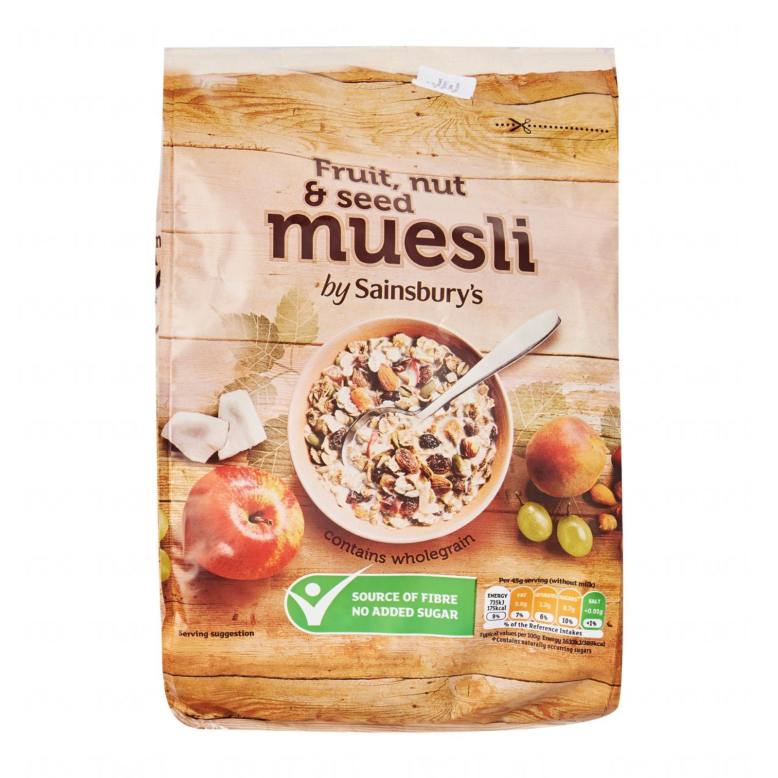 Sainsbury's Muesli Fruit and Nut