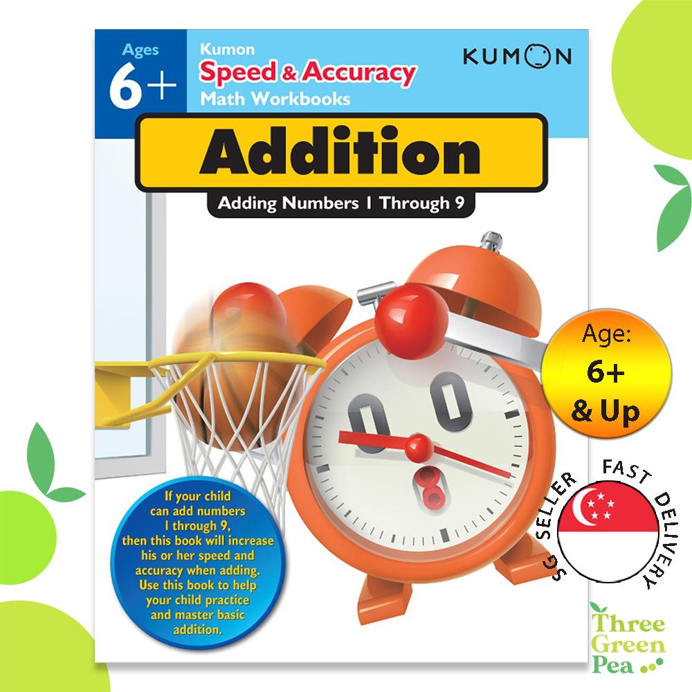 Speed & Accuracy Math Workbook - Addition