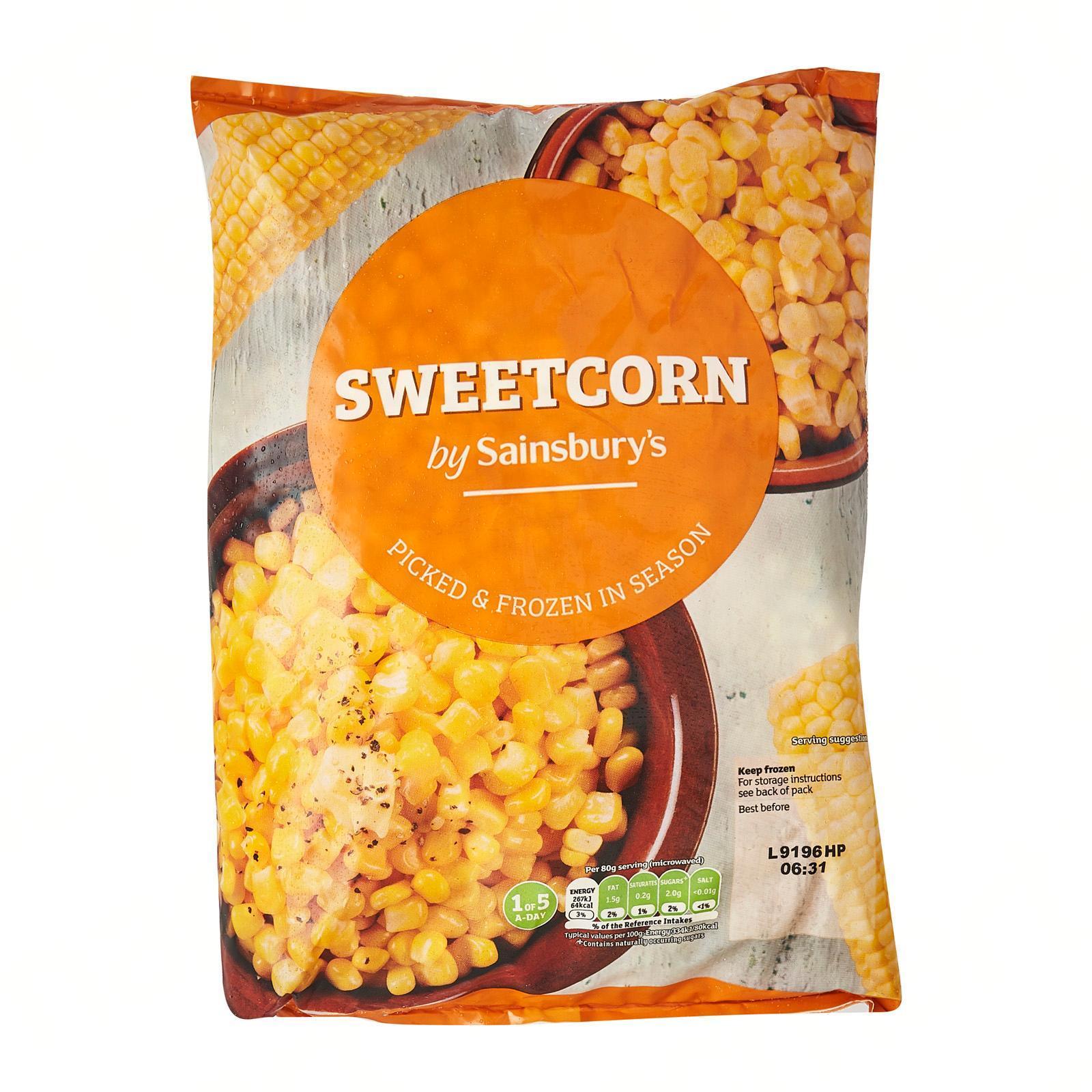Sainsbury's Sweet Corn - Frozen