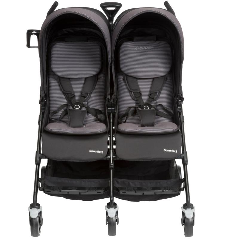 Maxi Cosi Dana Double stroller (Preorder- will arrive in 7-12 working days) Singapore