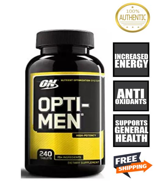 Buy OPTIMUM NUTRITION Opti-Men 240 Caps Multivitamin Opti men Optimen FREE Shipping 2-3 Days by Running Man Singapore