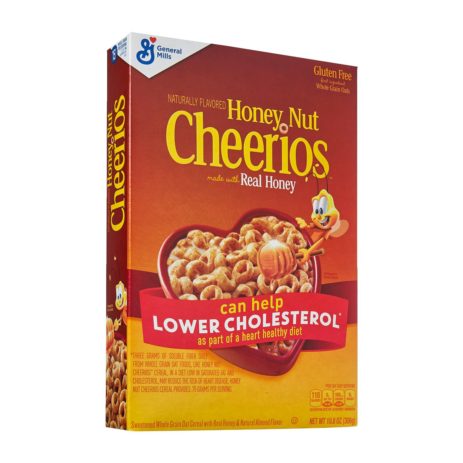 General Mills Cheerios Honey Nut Whole Grain Oat Cereal