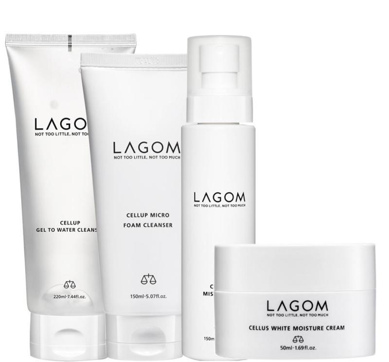 Buy Lagom Complete Daily Skincare Set (White Moisture) Singapore