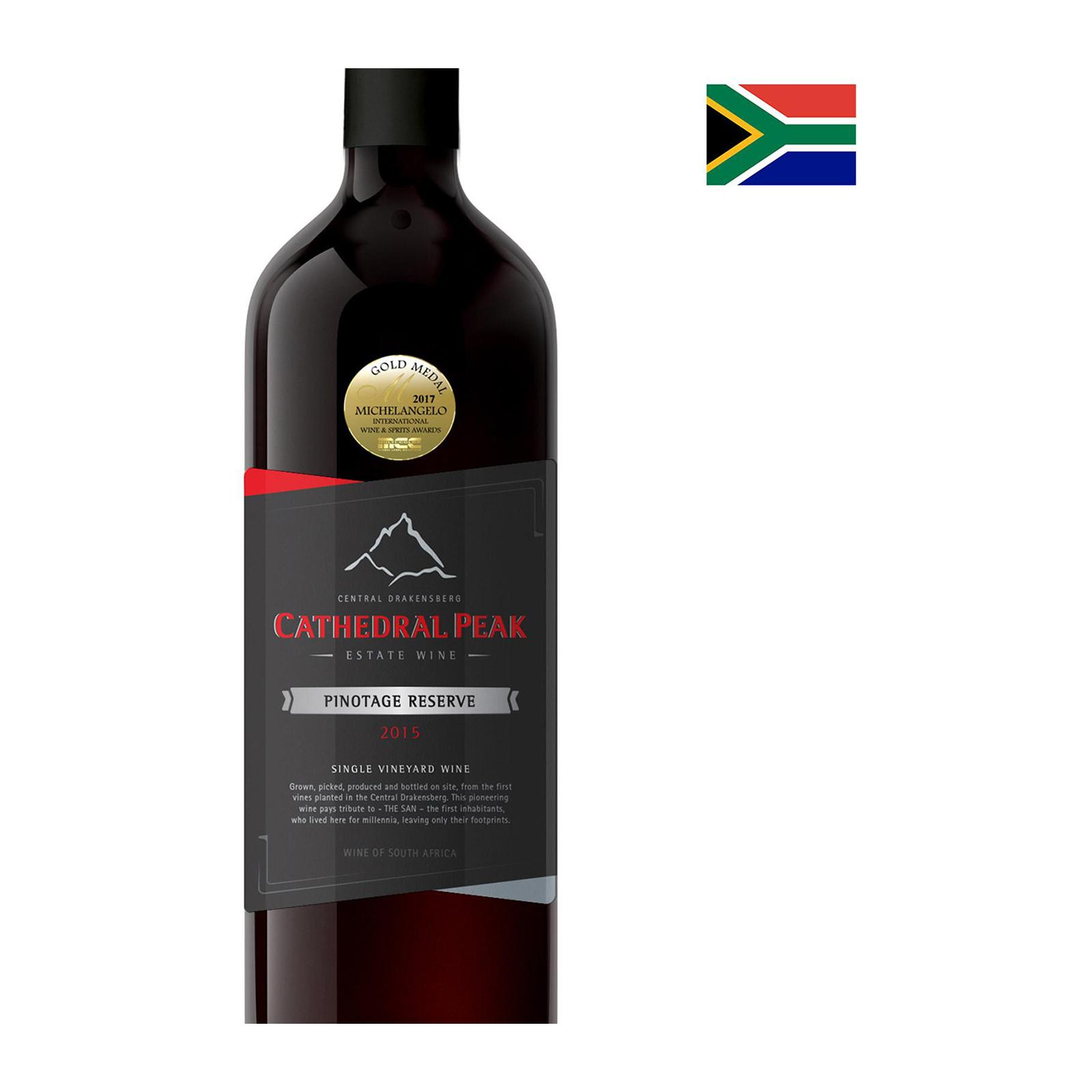 Cathedral Peak Estate Wines Pinotage Reserve