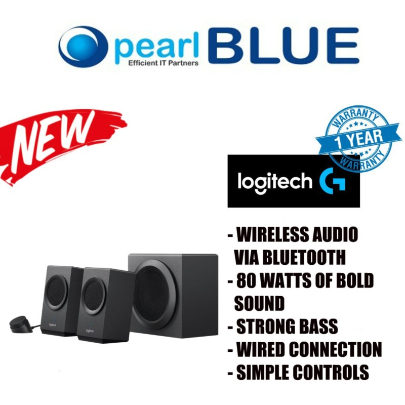LOGITECH Z337 SPEAKER SYSTEM WITH BLUETOOTH Bold Sound with Bluetooth Singapore