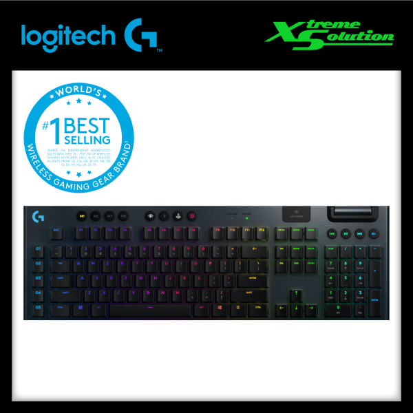 LOGITECH G915 LIGHTSPEED WIRELESS RGB MECHANICAL GAMING KEYBOARD Singapore