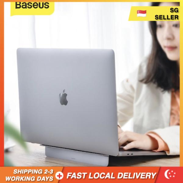 [SG Seller] Baseus Aluminum Alloy Laptop Stand Foldable Desktop Notebook Holder For 11.6-17 Inch Macbook Pro Air  ***Ready Stock***