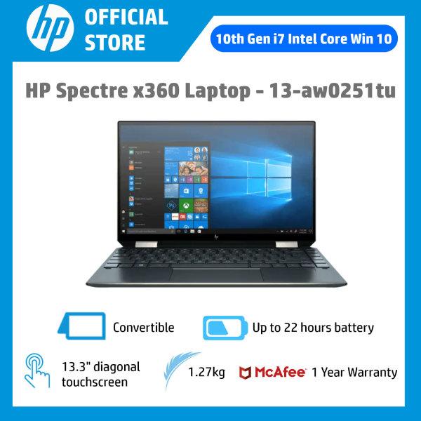 HP Spectre x360 - 13-aw0251tu / Intel® Core™ i7-1065G7 / 16GB RAM / 1TB SSD / Win 10 / Convertible / Touchscreen / Light / Long Battery Life