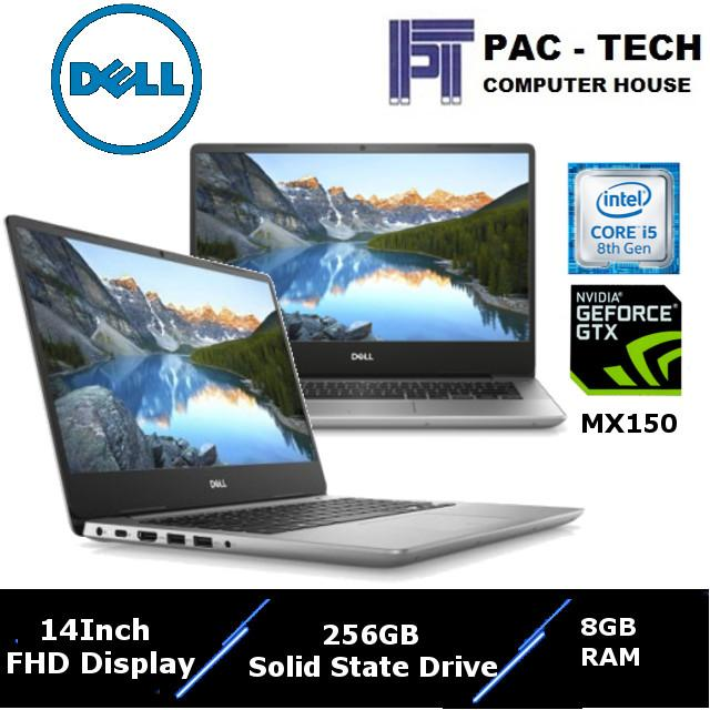 !! Dell Inspiron 5000 !! Inspiron 5480-826822G-W10 / Intel 8th Generation Processor / 14 Full HD Display / 8GB DDR4 RAM / 256GB Solid State Drive / Nvidia Geforce MX150 / 1 Year Premium Warranty