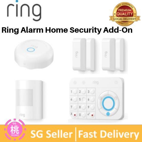 Ring Alarm Home Security Add-On ( Motion Detector, Contact Sensor, Smoke  Alarm, Flood Alarm, Keypad, Panic Button Options )
