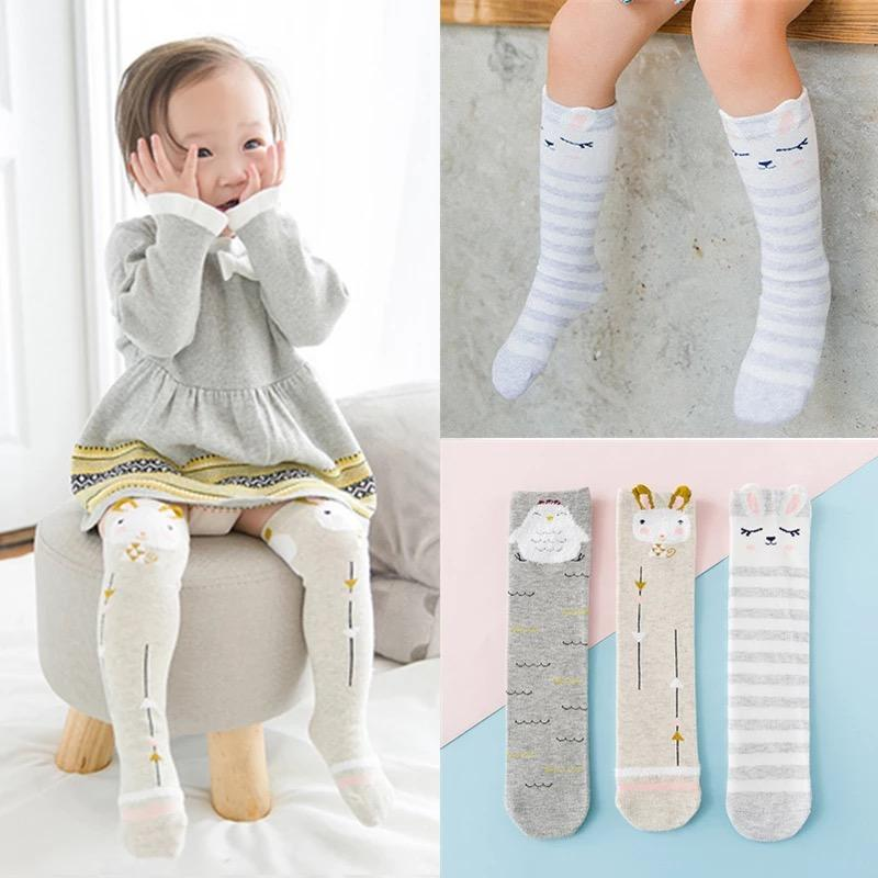 22523c86a56 Minimalist High Knee Socks for Babies   toddlers   Kids (Unisex) 3 pairs