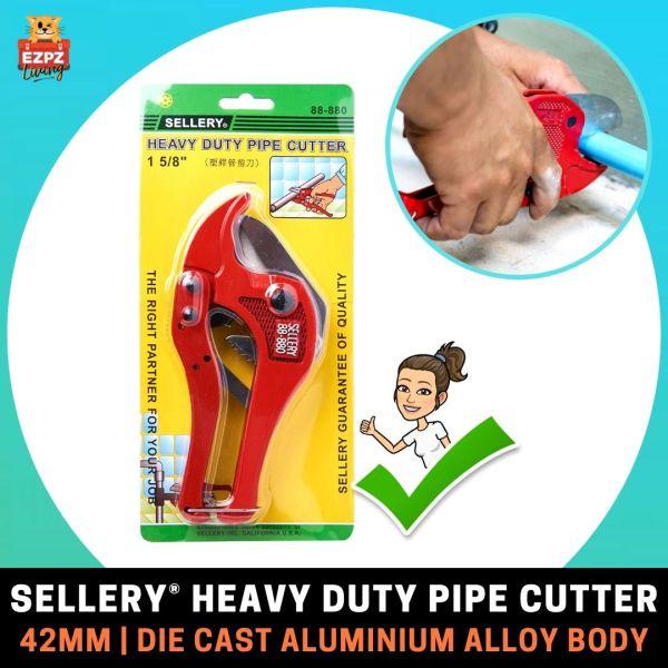 SELLERY 42MM Heavy Duty Pipe Cutter - Carbon Steel Blade