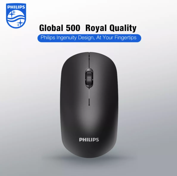 Philips M315 (SPK7315) Wireless Mouse Gaming Mouse Wireless For Home Office PC Computer Laptop