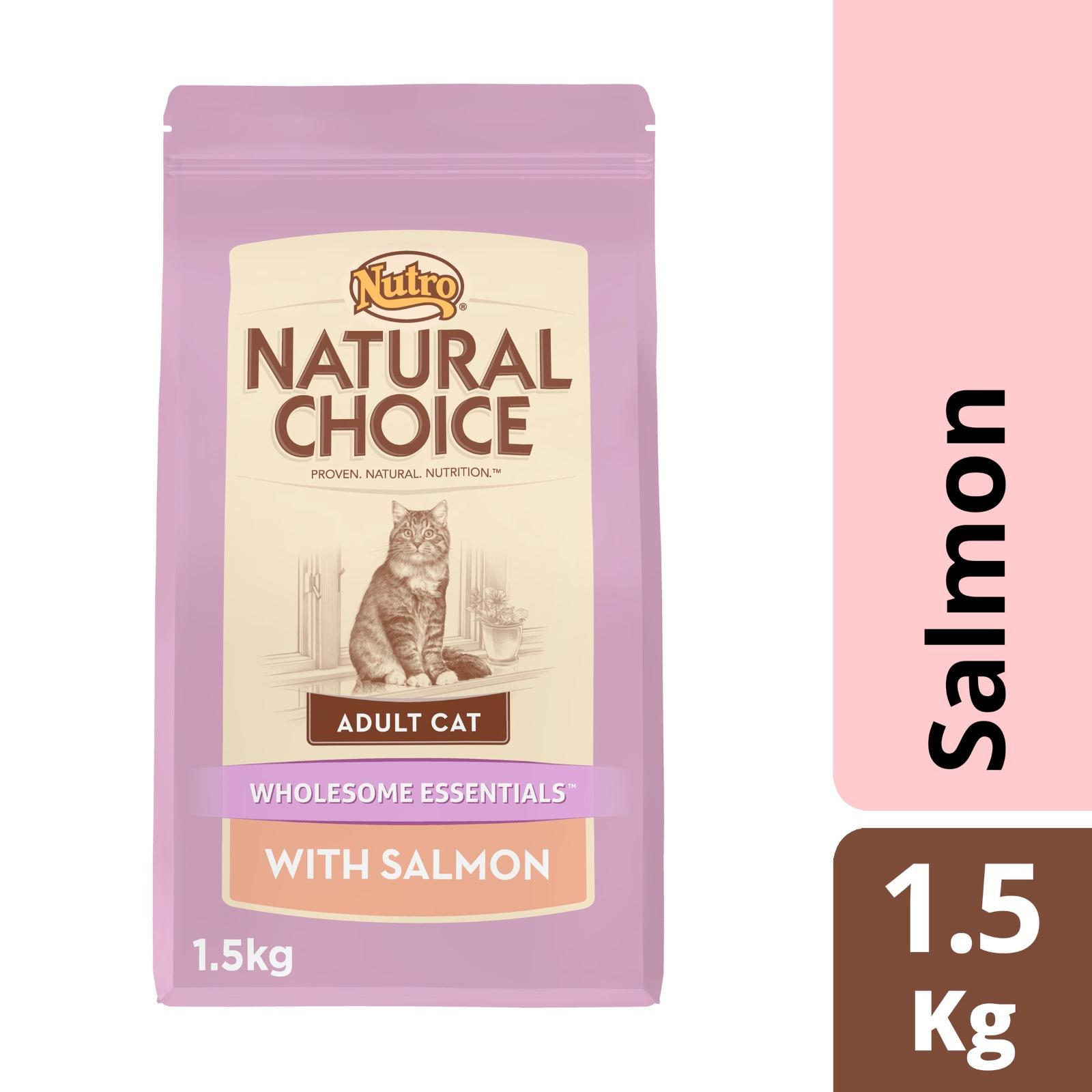 Nutro Cat Dry Wholesome Essential Adult Salmon Cat Food
