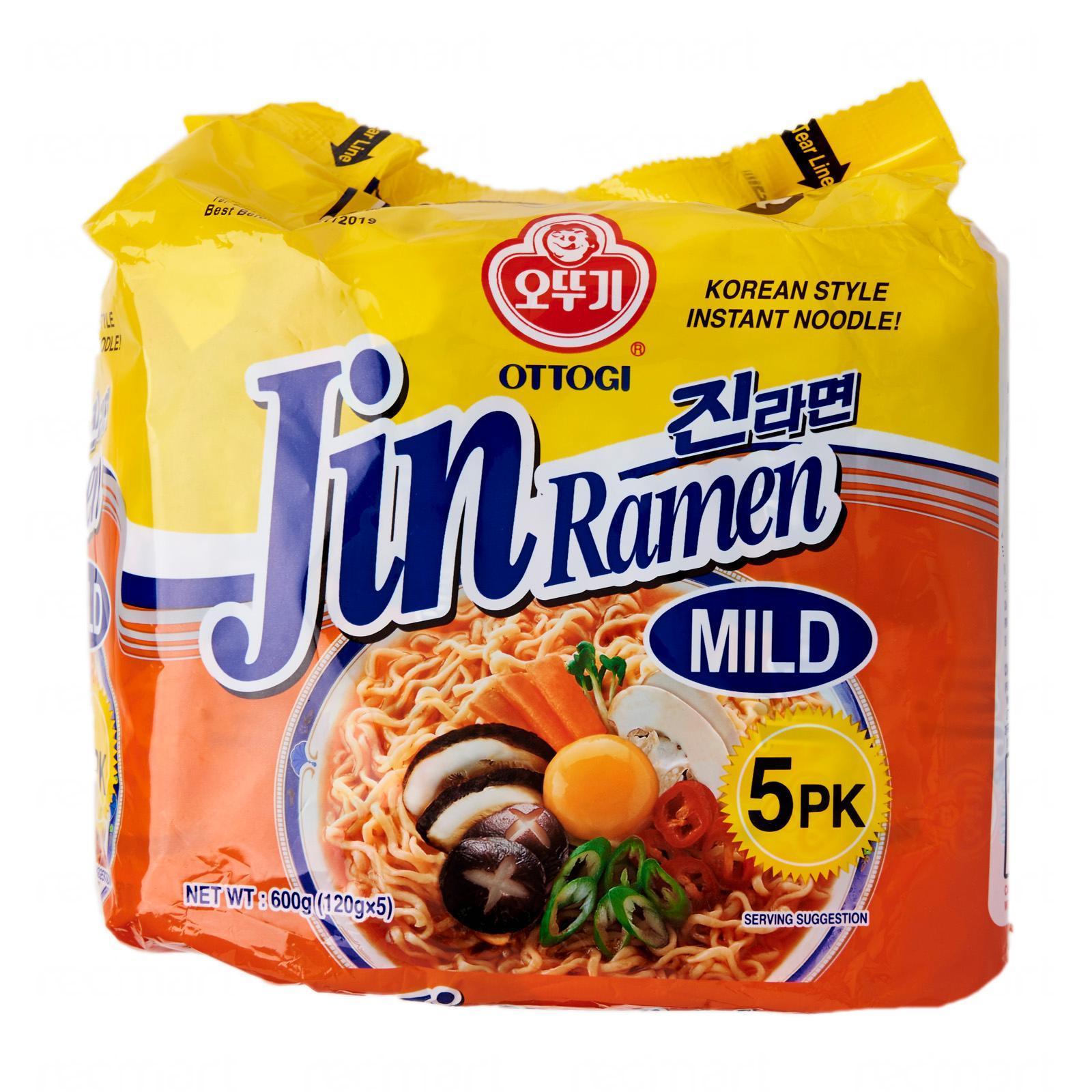 Ottogi Jin Ramen Mild Instant Noodle