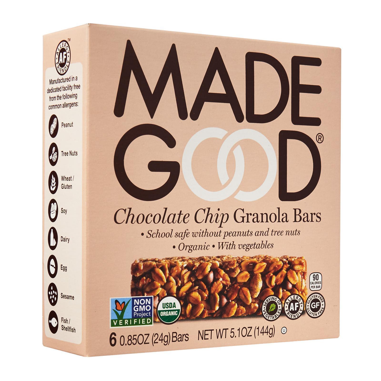 Made Good Organic Granola Bar Chocolate Chip