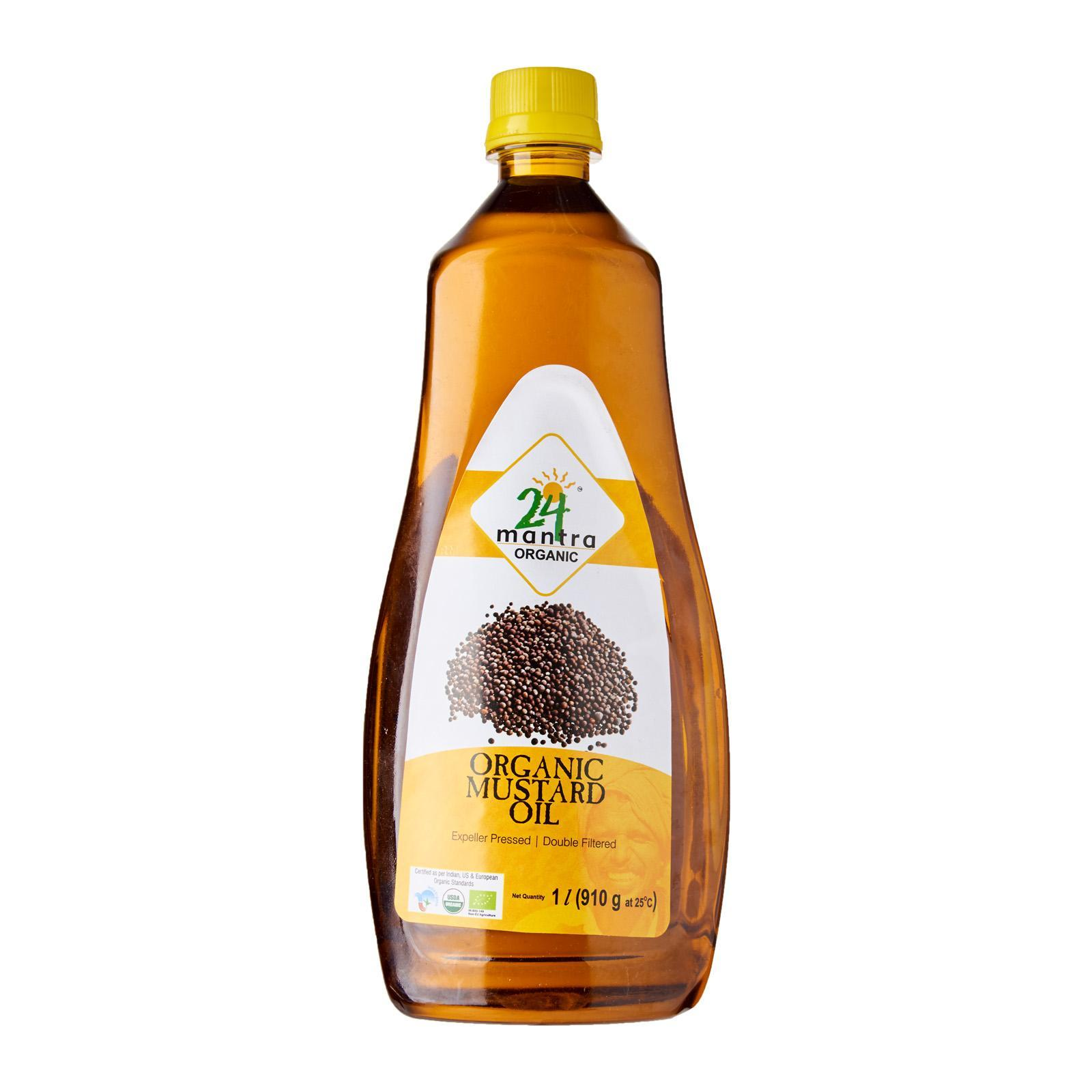 24 Mantra Organic Mustard Oil By Redmart.