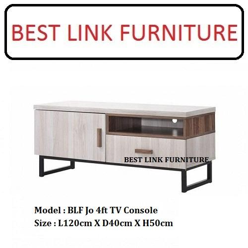 BEST LINK FURNITURE BLF Jo 4ft TV Console