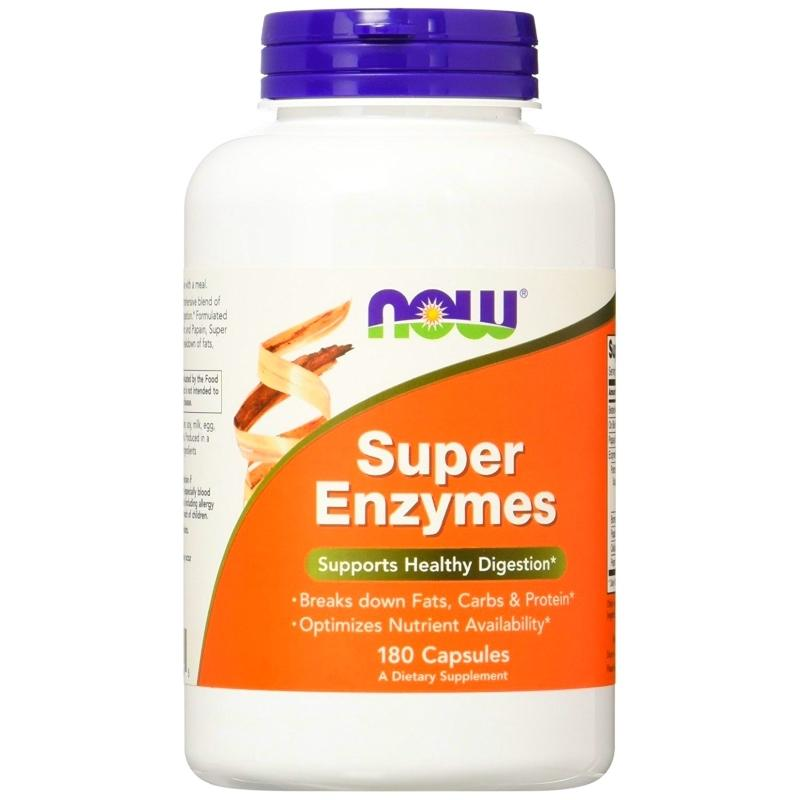 Now Super Enzymes 180 Tablets By The Supplement Warehouse.