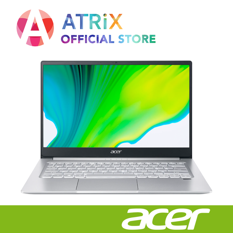 【Same Day Delivery】New Acer Swift 3 SF314-42-R612 | 1.2Kg | 14inch FHD IPS | AMD Ryzen 5 4500U | 16GB RAM | 512GB SSD | Win10 home | 2Yrs Acer warranty
