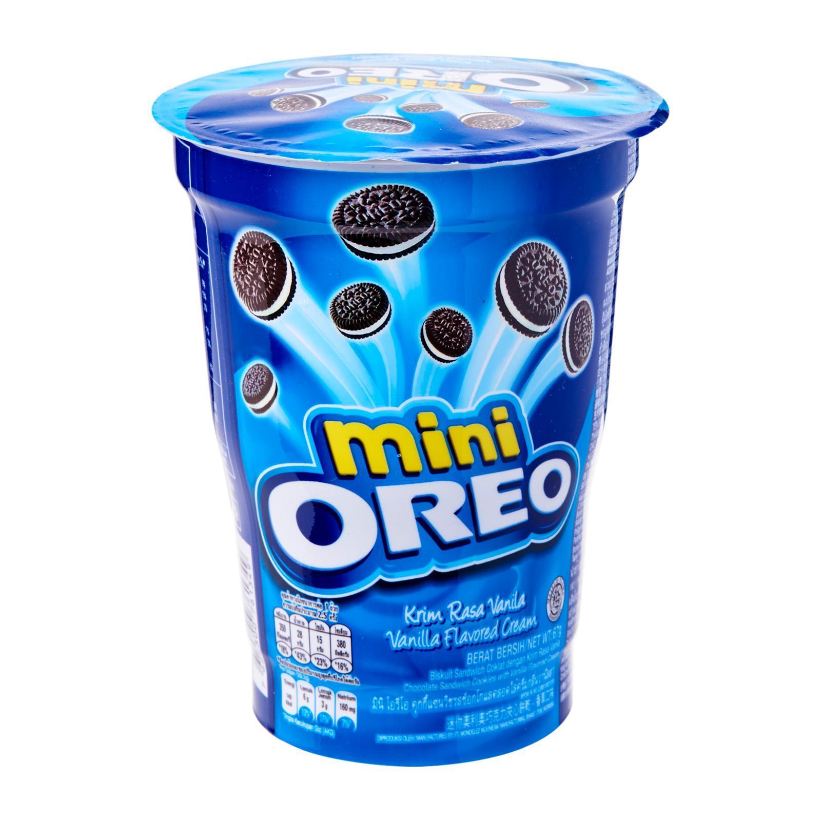 OREO Mini Sandwich Cookies (Cup) - Vanilla 67g
