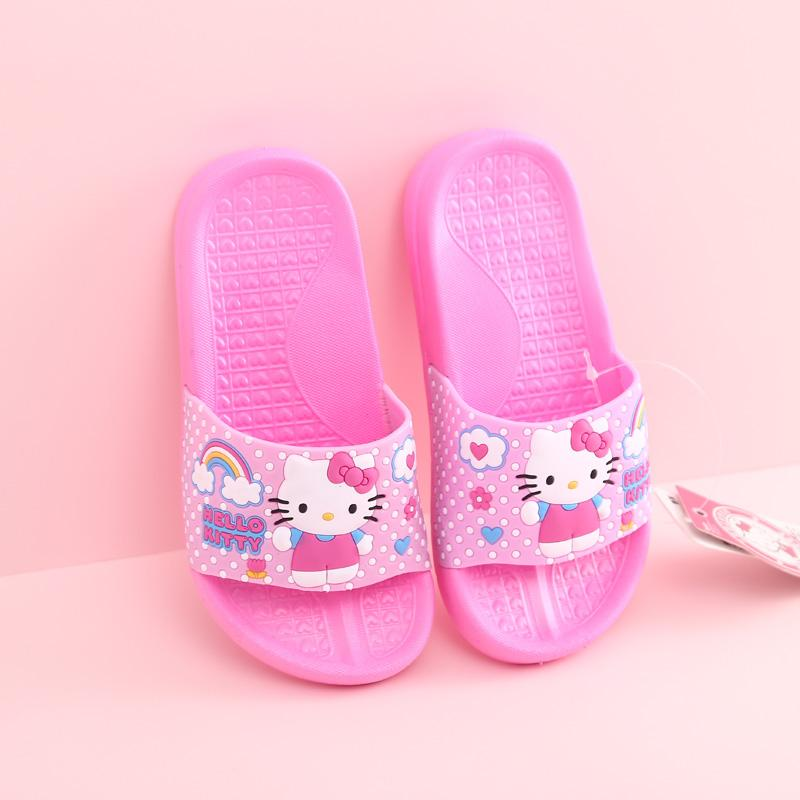 Girls School Shoes New Hello Kitty Infants Formal Party Evening Fancy Shoes Size