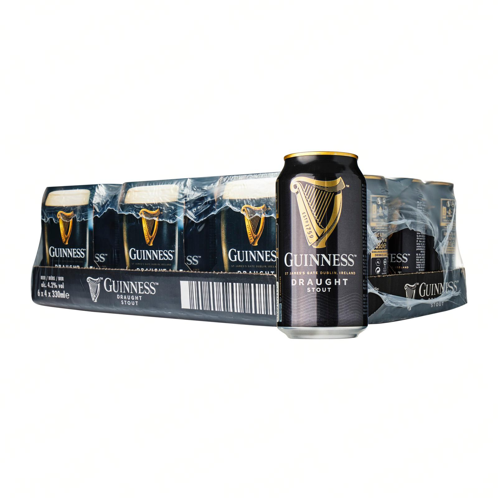 Guinness Draught Stout Can 24 x 330ml