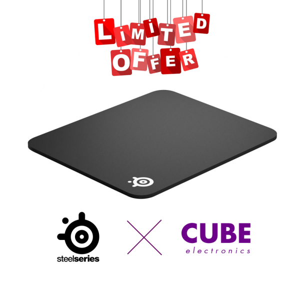 SteelSeries QCK+ Heavy & Large Mousepad (450x400x6)