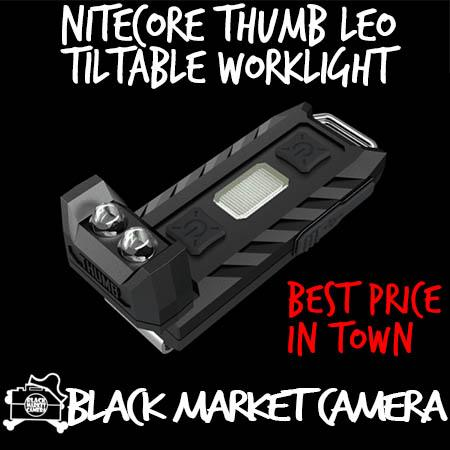 Nitecore Thumb LEO Dedicated for Law Enforcement Officers