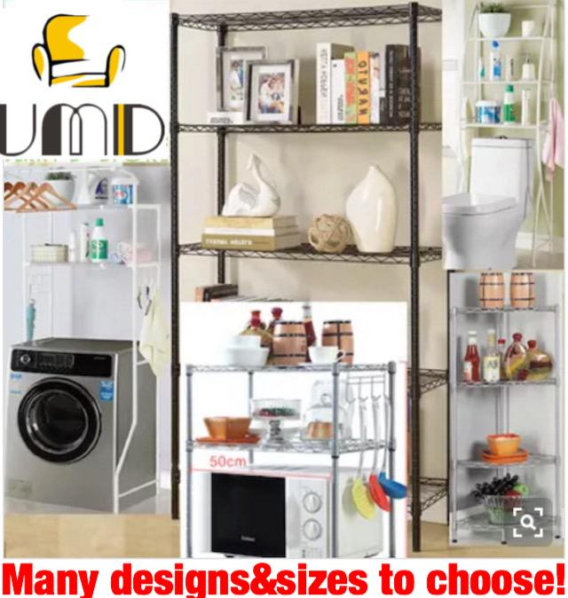 Enjoyable Umd Anti Rust Storage Rack Storage Shelf Kitchen Organiser Metal Rack With Shelf Height Adjustable Refer To Option Pic For Design Color Size Download Free Architecture Designs Scobabritishbridgeorg
