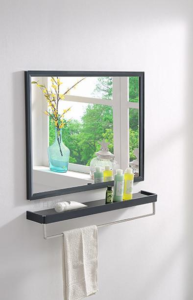Mirror stainless steel frame