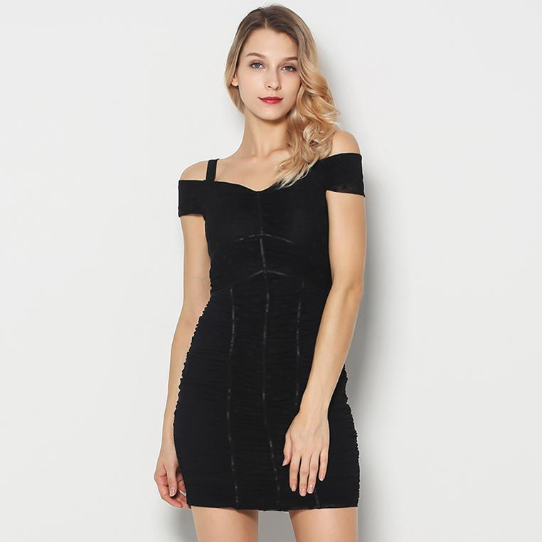 Guess Ruched Mini Dress.