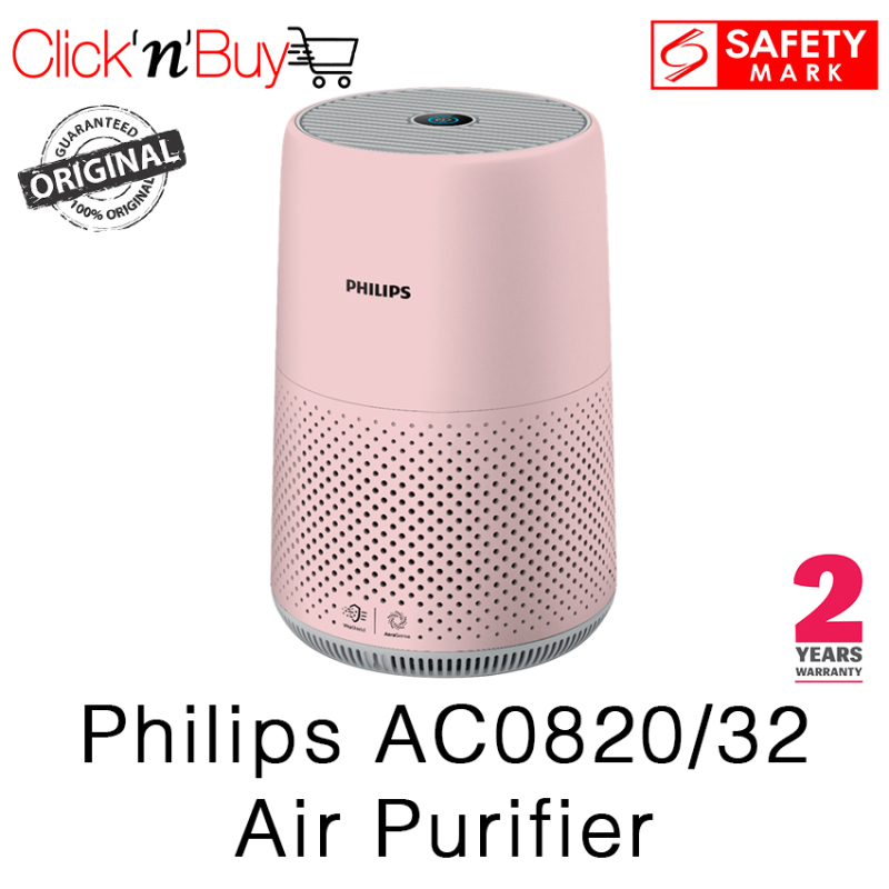 Philips AC0820/32 Air Purifier. Beat the Haze. Removes 99.5% of Particles as small as 0.003um. Safety Mark Approved. 2 Years Warranty. Singapore