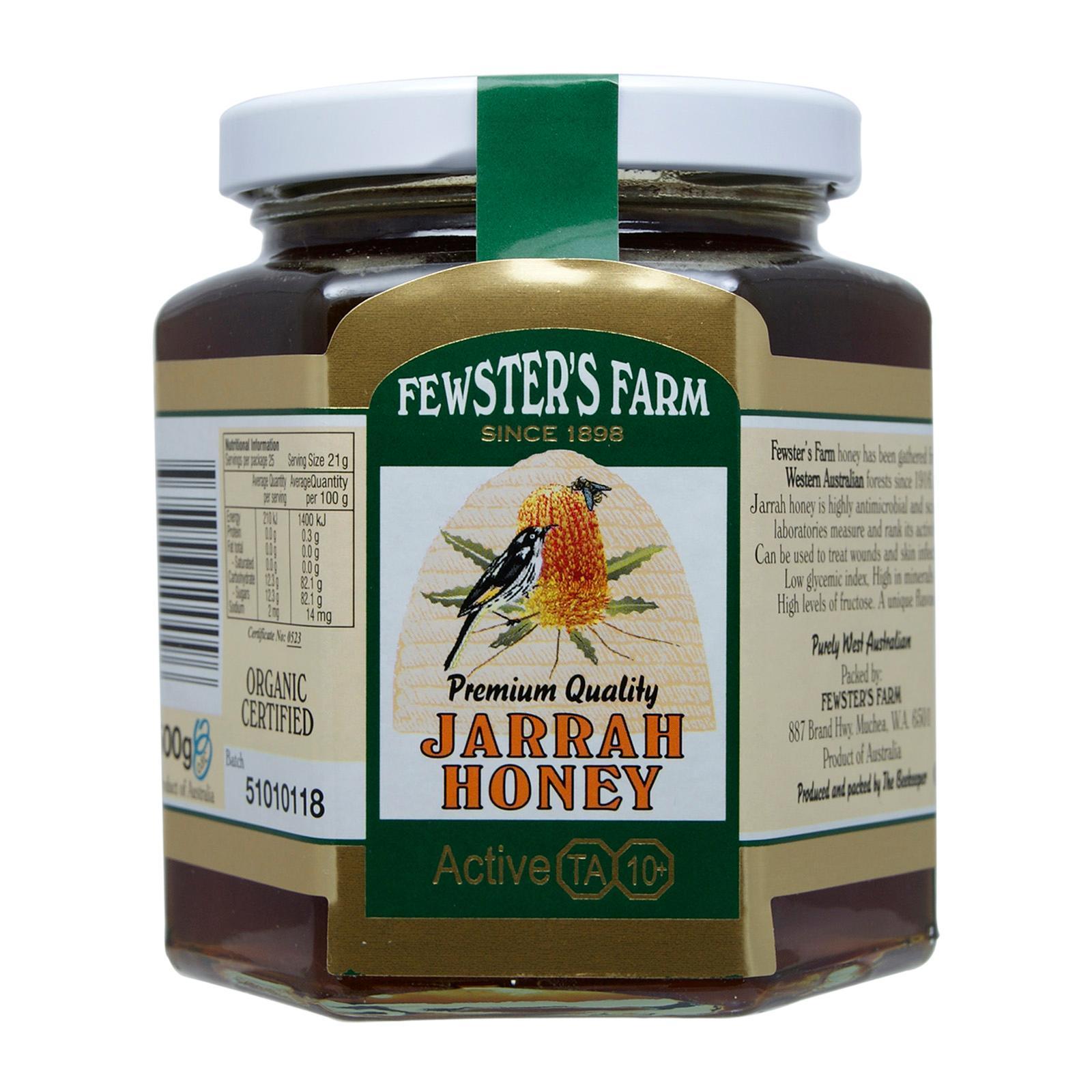 Fewster's Farm TA 10+ Jarrah Honey Honey - By Nature's Nutrition