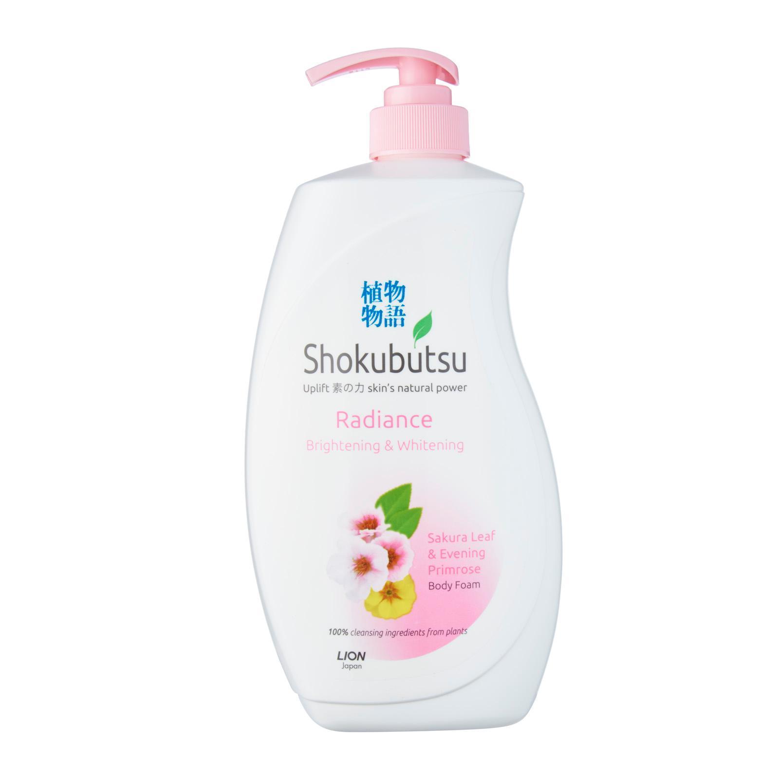 Shokubutsu Radiance Body Foam - Brightening and Whitening