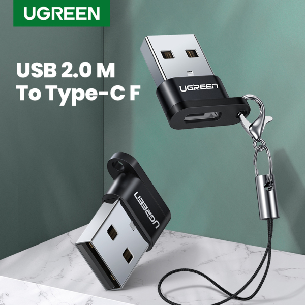【1 pc】UGREEN USB C Female to USB Male Adapter, USB A to USB C Converter Compatible with Laptops, Chargers and More Devices with Standard USB A Ports