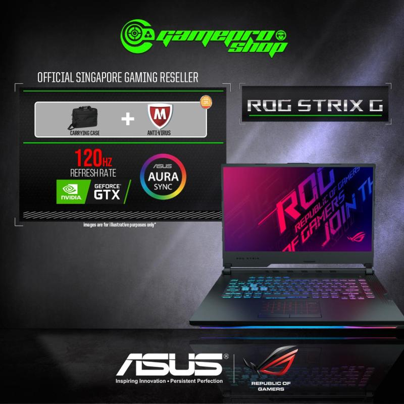 9th Gen ASUS ROG Strix G G531GU GTX1660TI (I7-9750H / 16GB / 512GB SSD / W10) 15.6  FHD with 120HZ GAMING LAPTOP