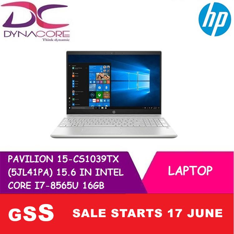 HP PAVILION 15-CS1039TX (5JL41PA) 15.6 IN INTEL CORE I7-8565U 16GB 1TB+256GB PCIE SSD WIN 10