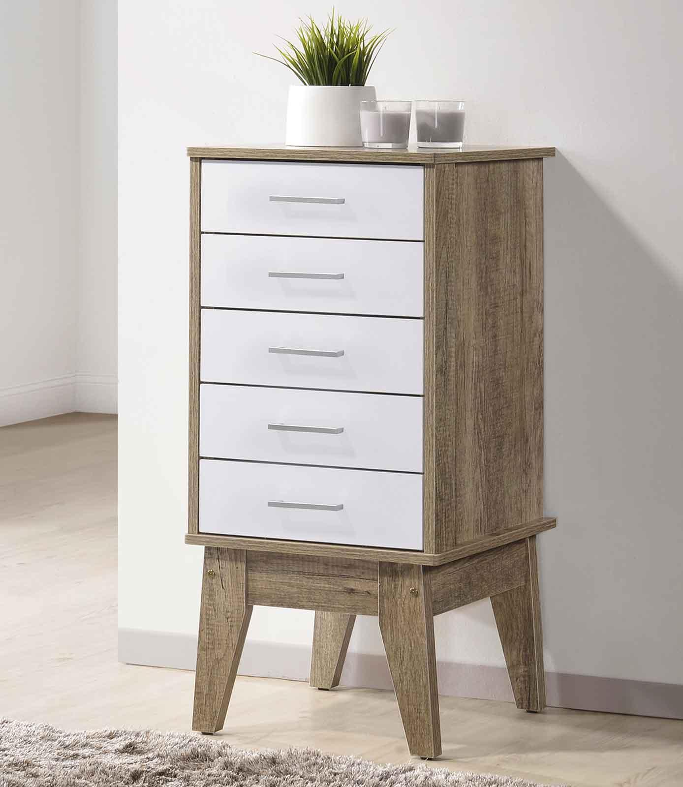 Scandinavian Chest of Drawers(Free Installation + Delivery) Storage slimboy tallboy Bedroom⭐E-LIVING Furniture