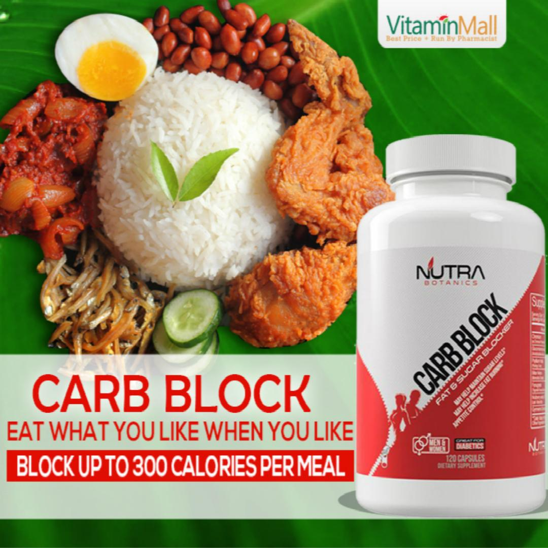 Nutra Botanics Carb Block By Vitaminmall.